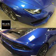 Lustrage auto 3 phases et detailing complet sur cette Lamborhini Huracan. Disponible à la vente chez notre partenaire.